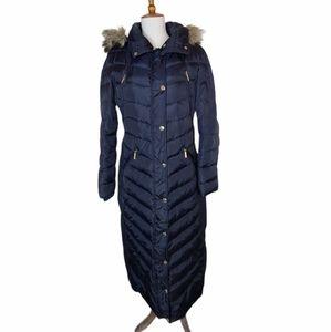 Michael Michael Kors Navy Blue Winter Coat